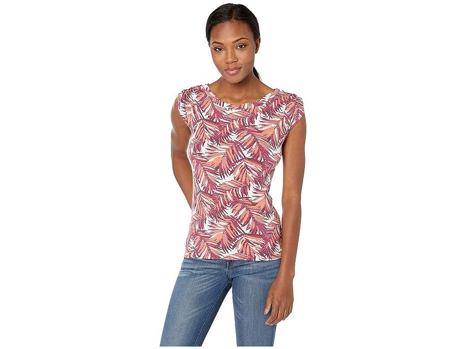 Royal Robbins Noe Twist Print Short Sleeve Top (Beaujolais Print) Women