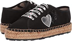 Canvas Espadrille w/ Hearts