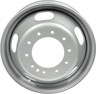 "Dorman 939-163 Steel Wheel for Select Dodge/Ram Models (19.5x6""/10x225mm), Silver"