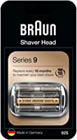Braun Series 9 92S Byteskassett till Elektriskt Rakapparatshuvud - Silver - Kompatibel med Series 9 Rakapparater