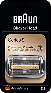 Best Braun 92S Series 9 Electric Shaver Replacement Foil and Cassette Cartridge - Silver Review