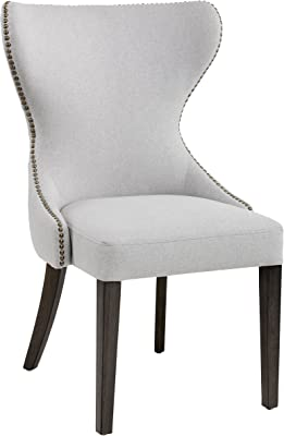 Amazon Com Iconic Home Brando Dining Side Accent Chair