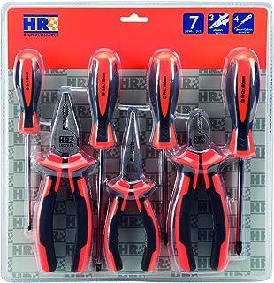 HR 170522Game 7Pzas Pliers + destornil. Blister, 0V, Set of 7Pieces
