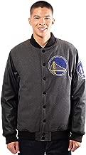 Ultra Game NBA Men's Full-Zip Classic Varsity Jacket