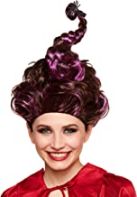 Spirit Halloween Hocus Pocus Mary Sanderson Wig for Adults - Deluxe | Officially Licensed Brown