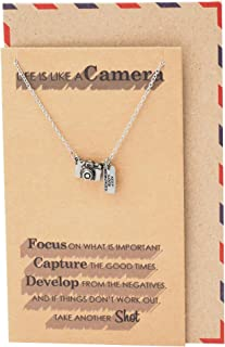love photography pendant necklace