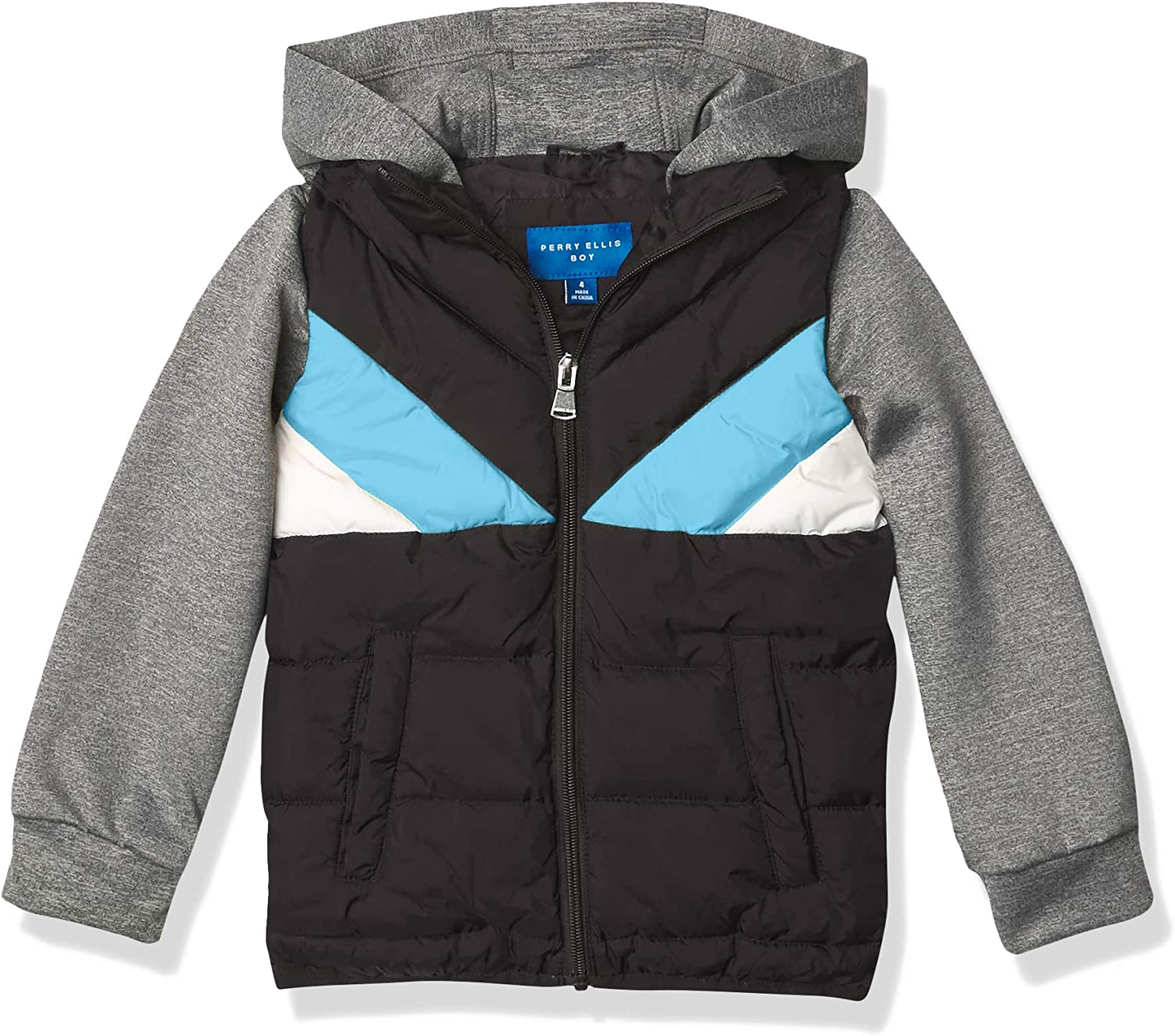 Perry Ellis boys Quilted Puffers
