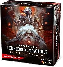 Asmodee Italia-Il Dungeon del Mago Folle, Il Gioco da Tavolo Edizione in Italiano, 4034