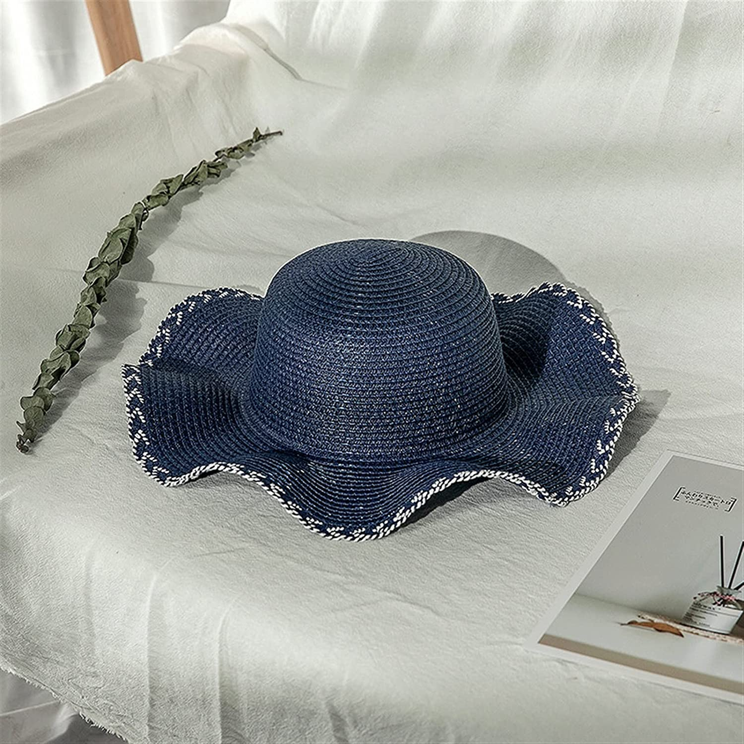 JJSNN Sun Max 56% OFF Hat Foldable Straw hat Max 62% OFF for Solar Br Protection Women