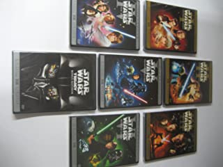 Star Wars 1-6 Dvd Set with Bonus Material Dvd (Widescreen)