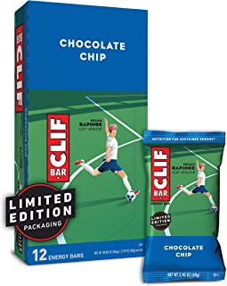 CLIF BAR – Energy Bars – Chocolate Chip – (2.4 Ounce Protein Bars, 12..