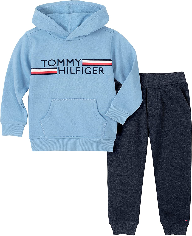 Tommy Hilfiger baby-boys 2 Pieces Hooded Jog Set