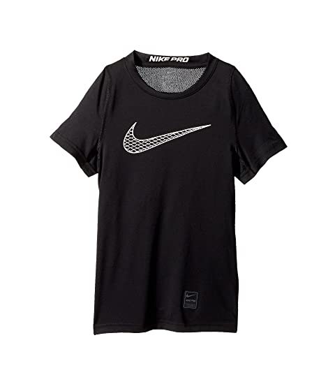 78dce55a3dcf Nike Kids Pro Fitted Short Sleeve Training Top (Little Kids Big Kids ...