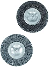 Parkside Voegenborstelset (1 kunststof borstel, 1 metalen borstel) vervangende borstels, voor Parkside universele borstel ...