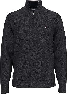 Men's 1/4 Zip Mockneck Sweatshirt