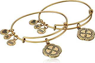 Mom and Daughter Infinite Connection Set of Two Bangle Bracelet