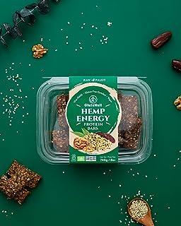 Glutenull, Bar Hemp Energy Raw Organic, 240 Gram