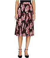 Kate Spade New York - Rambling Roses Rosa Pleated Skirt