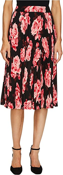 Rambling Roses Rosa Pleated Skirt