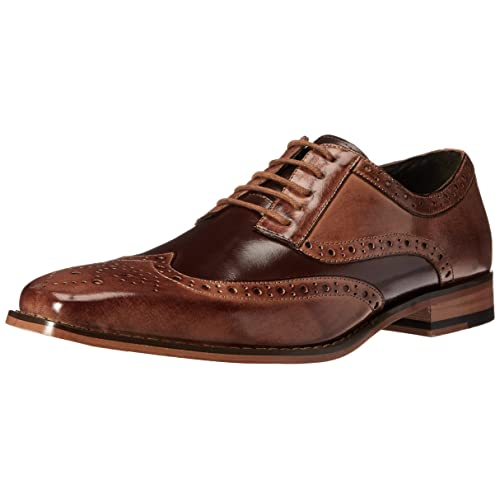 364c4270b7943 Stacy Adams Men's Tinsley Wingtip Lace-Up Oxford