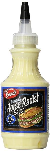 Amazon Com Beanos Sauce Horseradish 8 Oz Pack Of 3 Sandwich Spreads Grocery Gourmet Food