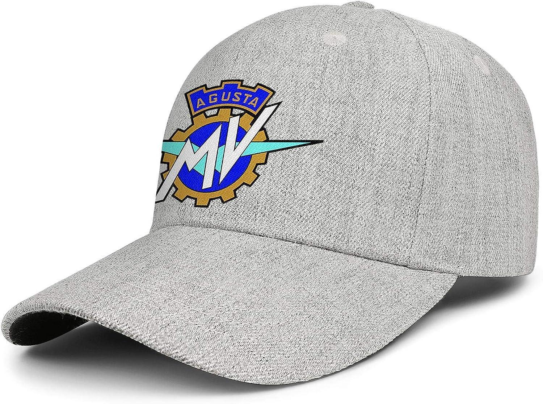 COOLGOOD Mv-Agusta-Logo Winter Men Women Classic Wool Baseball Hats Sports Snapback Caps