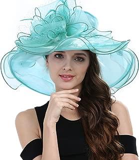 Women's Kentucky Derby Racing Horse Hat Church Wedding Dress Party Occasion Cap