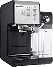 BrevilleVFC108X-01 Primalatte II Koffie- En Espressomachine, Zwart/Zilver