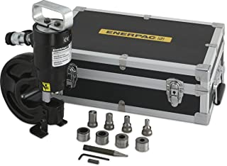 Enerpac SP-35S 35-Ton Capacity Hydraulic Punch with 4 Punch and Die Sets
