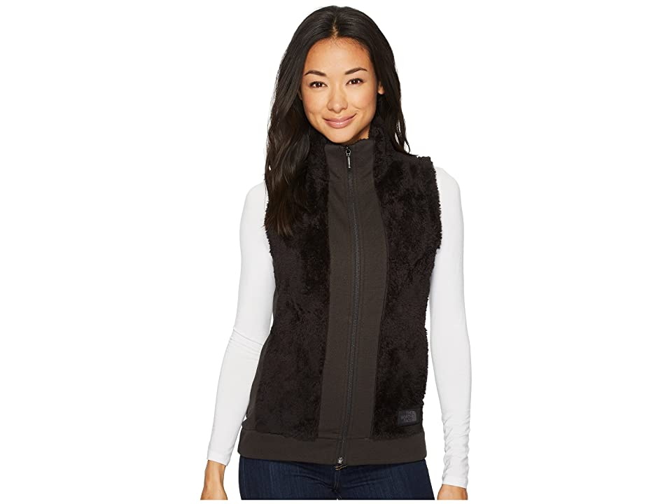The North Face Furry Fleece Vest (TNF Black) Women