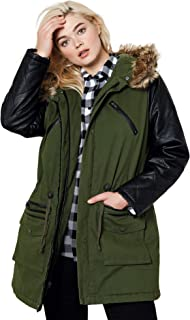Best parka jacket with leather sleeves Reviews