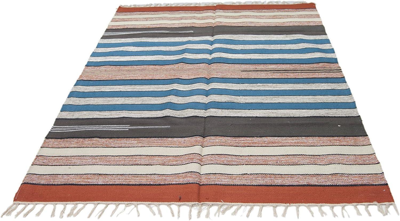 Galleria Farah1970 ING-1970-17-Indian Hand mde Kilim Cotton 180x120 CM -
