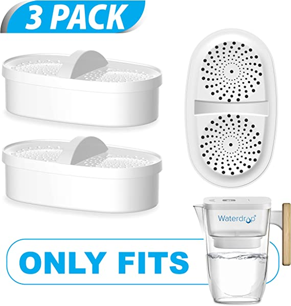 Waterdrop Replacement Filters For Extream Pitcher Filtration System Last Up To 9 Months Pack Of 3