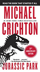Cover image of Jurassic Park by Michael Crichton