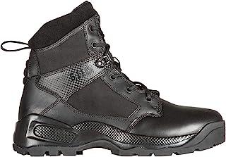 """5.11 男士 ATAC 2.0 6"""" 战术军靴,带刀袋,款式 12401,黑色"""