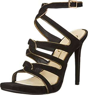 Best black heels gold Reviews