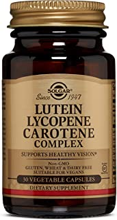 Solgar - Lutein Lycopene Carotene Complex, 30 Vegetable Capsules