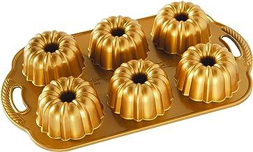 Nordic Ware 86277 Anniversary Bundtlette Pan, One Size, Gold