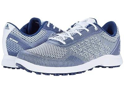 adidas Golf Alphaflex Sport (White/Tech Indigo/Savannah) Women