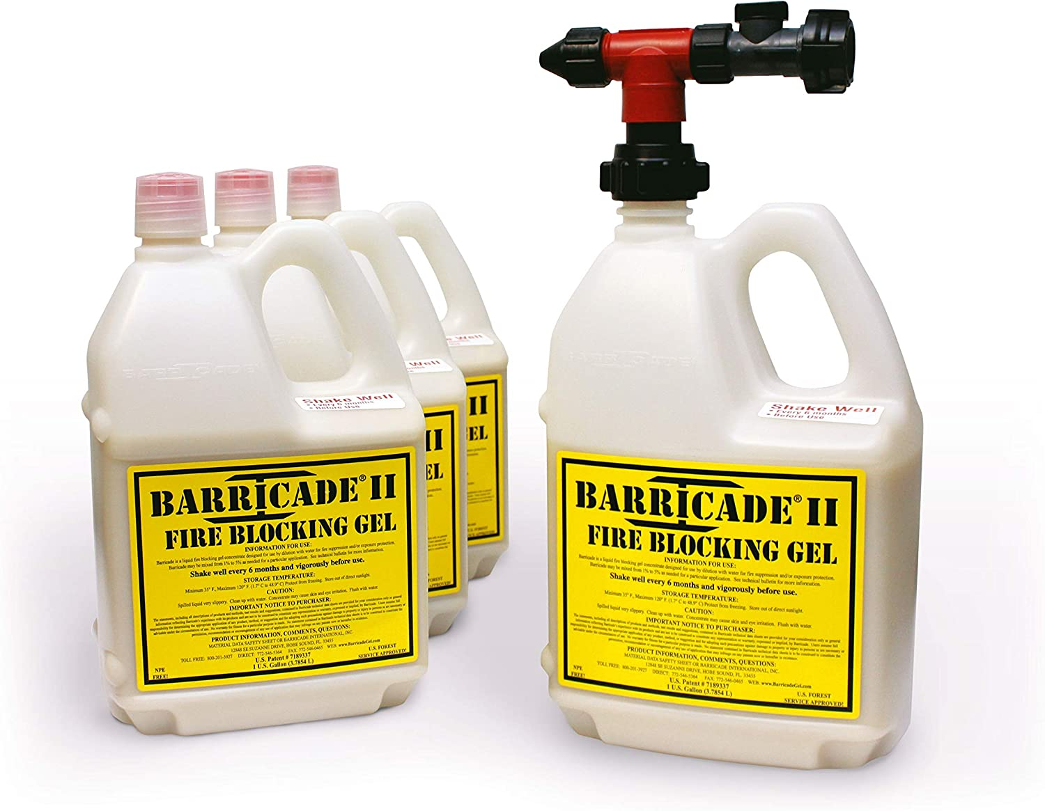 Barricade Fire Gel - Dead-St Max 84% OFF Thermal-Protective Coating Provides New Shipping Free