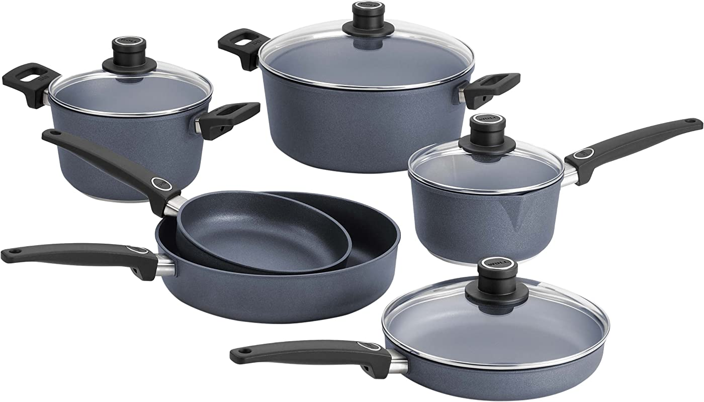Woll Diamond Plus Diamond Lite 10 Piece Cookware Set