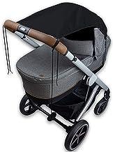Bambino Benni Universal Sonnensegel für alle Kinderwagen und Verdecksportwagen, Sonnenschutz und Sichtschutz Kinderwagen mit einfacher Befestigung, UPF50 zertifiziert
