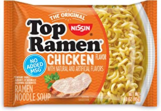 Nissin Top Ramen Chicken - 3 oz - 24 ct