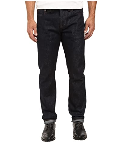 The Unbranded Brand Tapered in 21 OZ Indigo Selvedge (Indigo Selvedge) Men