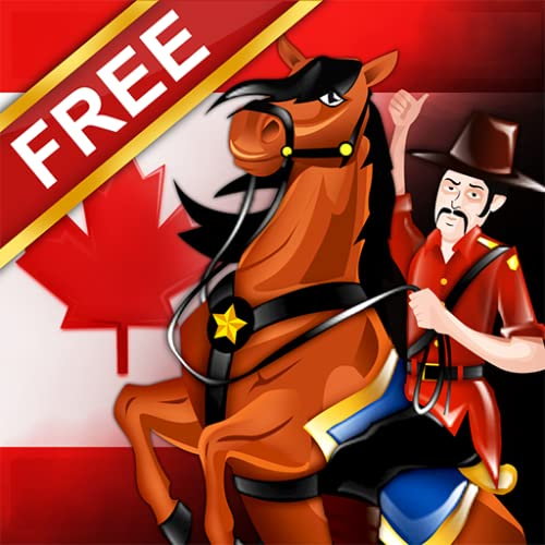 Canadian Mounted Police Horse Training : die Beweglichkeit testen Rennstrecke - kostenlos