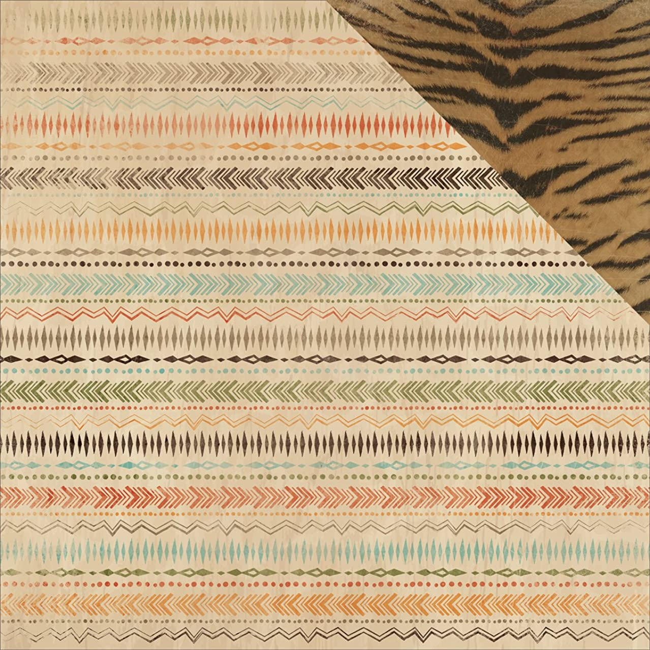Kaisercraft Into The Wild Double, Sided Cardstock, 10 Sheets, 12