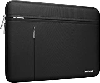 MOSISO Laptop Sleeve Compatible with MacBook Pro/Air 13 inch, 13-13.3 inch Notebook Computer, Water Repellent Polyester Ca...