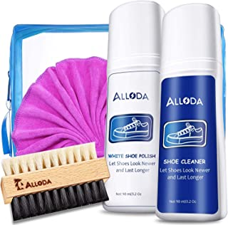 Shoe Cleaner+Shoe whitener, Sneaker Cleaner, Brush-Shoe Cleaning Kit, Alloda