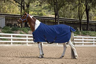 Kensington Products Egyptian Cotton Horse Stable Blanket - Lightweight Durable & Breathable Day Sheets