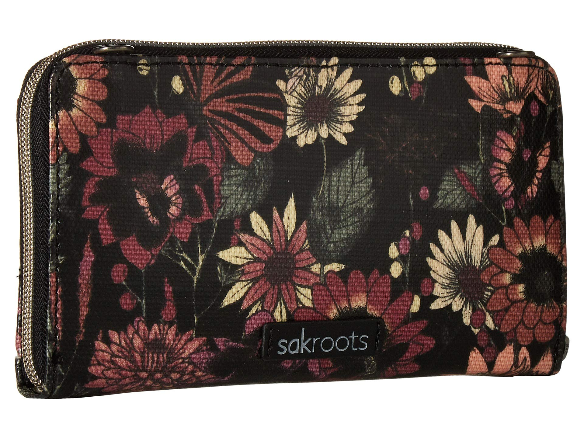 Smartphone Sakroots Graphite Circle Crossbody Artist Bloom In qvwBvRE
